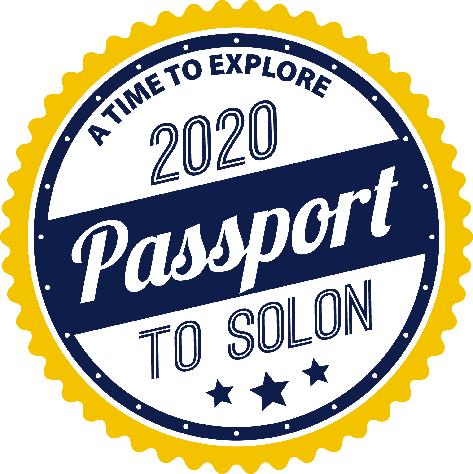 Passport to Solon Stamp
