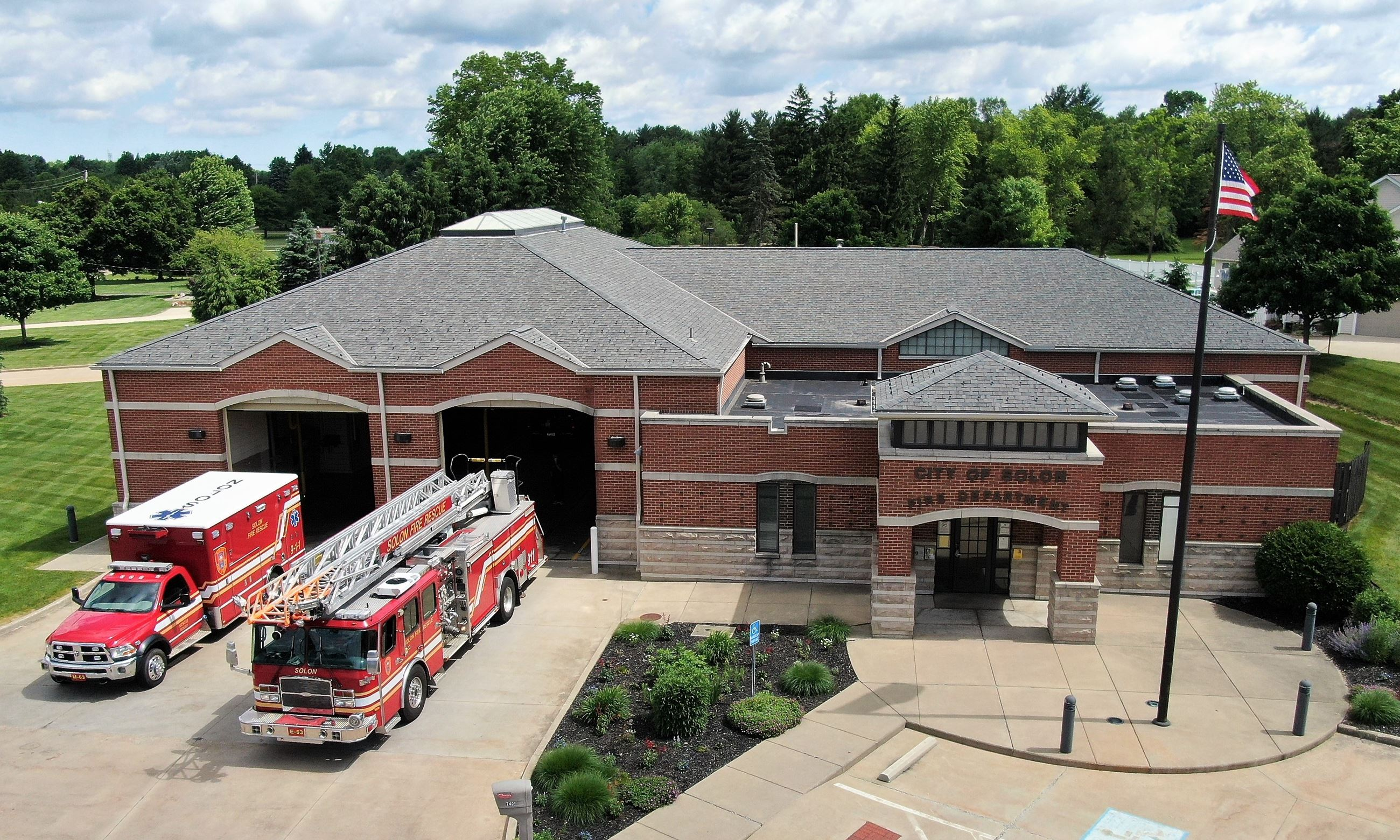 Station 3 with Trucks