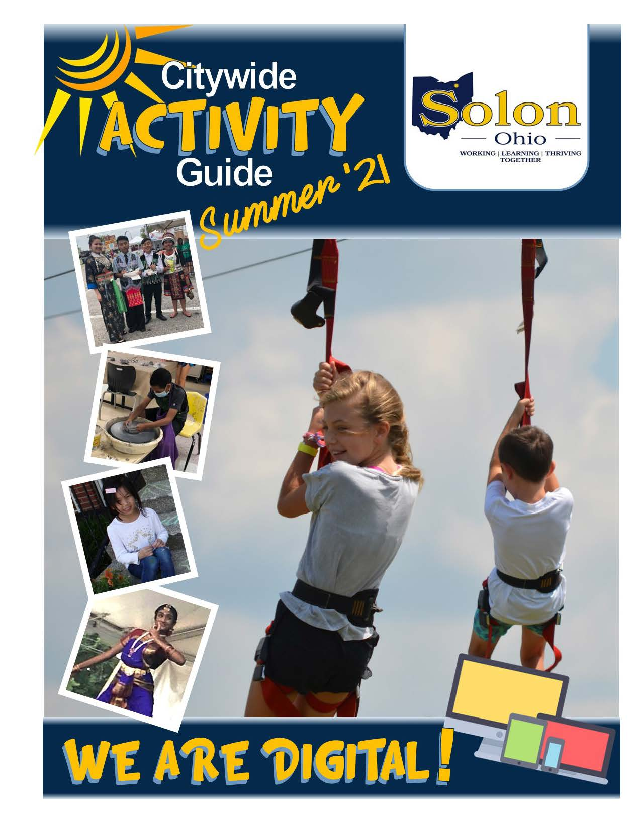 Solon Citywide Activity Guide - Summer 2021