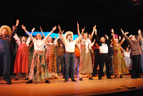 """G2K Oklahoma!"" on stage at SCA."