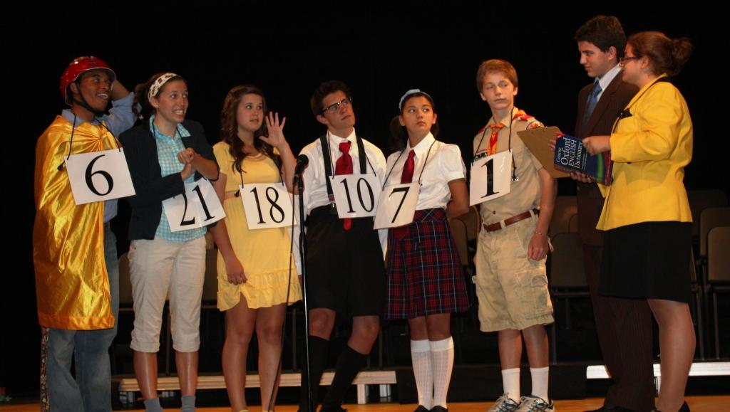 "SCA's 2010 Summer Stock performance of ""The 25th Annual Putnam County Spelling Bee"""